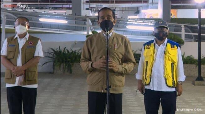 Jokowi Resmikan Rusun Pasar Rumput Rp970 M yang Dibangun Kemen-PUPR Sejak Era Ahok