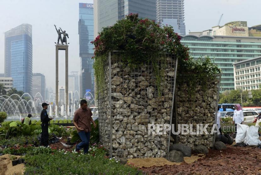Pemprov DKI Tepis Pembangunan Tugu Sepeda Mangkrak: Bulan Ini Selesai