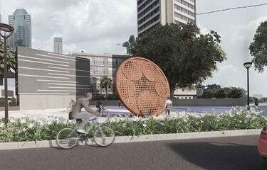 Dulu Digembar-gemborkan, Pembangunan Tugu Sepeda Anies Baswedan Kini Mangkrak…
