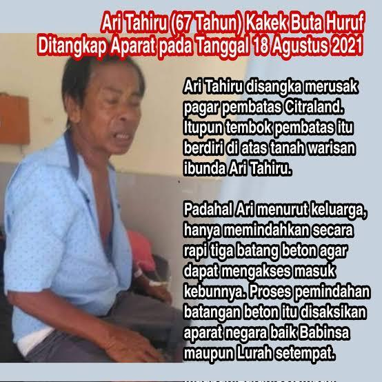 Surat Sang Jenderal TNI, Untuk Babinsa Yang Dipanggil Polisi Akibat Tanah Ciputra