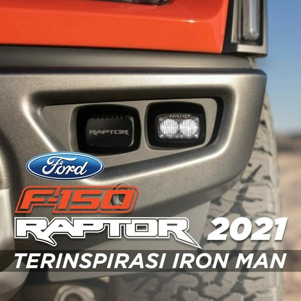 Desain F-150 Raptor Terinspirasi Iron Man