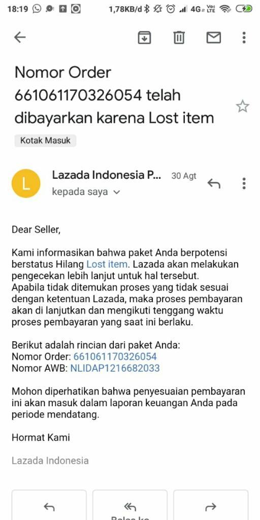 Lazada Tidak Membayar Hasil Jualan Seller Bahaya!!!!