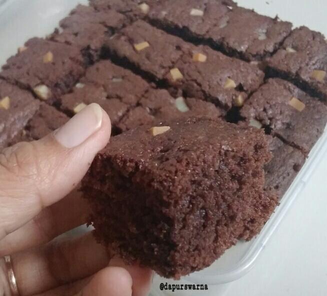 Brownies Panggang yang Endesnya No Bokis