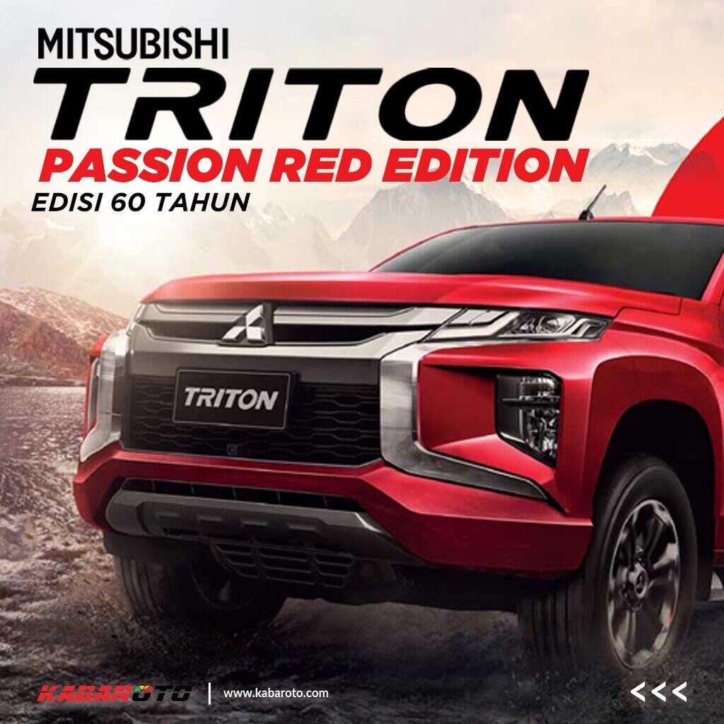 Mitsubishi Triton Edisi 60 Tahun Hadir Di Thailand