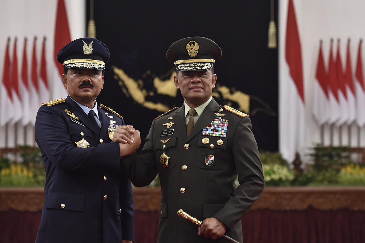 Respons Panglima Hadi soal Tudingan Komunis Susupi TNI