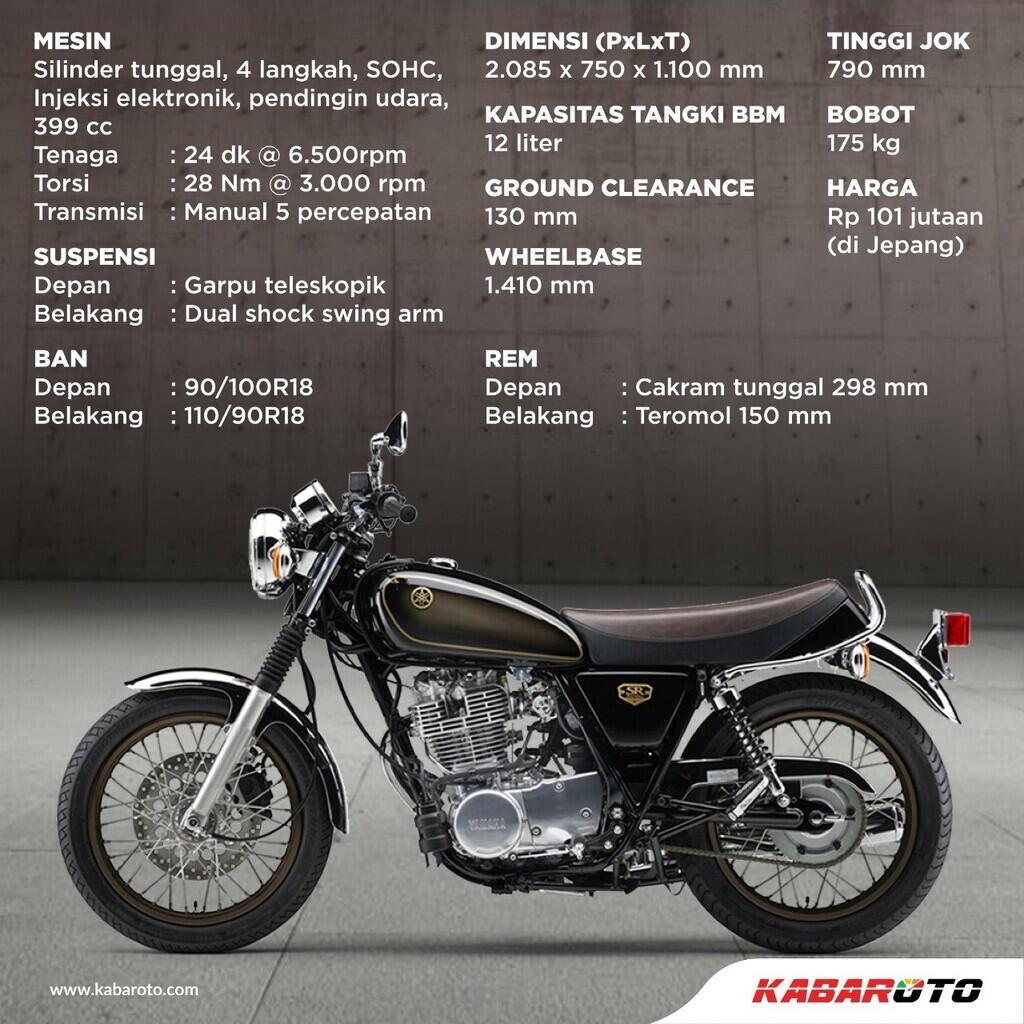 Salam Perpisahan, Yamaha SR400 Final Edition