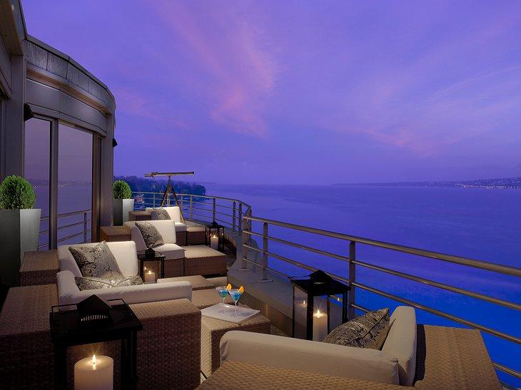 Sewa Per Malamnya Setara Rp.1,1 Milyar, Inilah Mewahnya Kamar Penthouse Royal Suite !