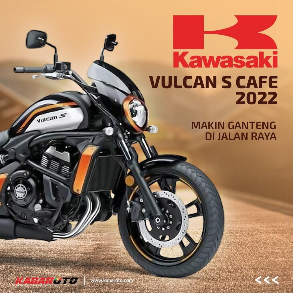 Kawasaki Vulcan S Cafe 2022, Lebih Gaya Di Jalan Raya