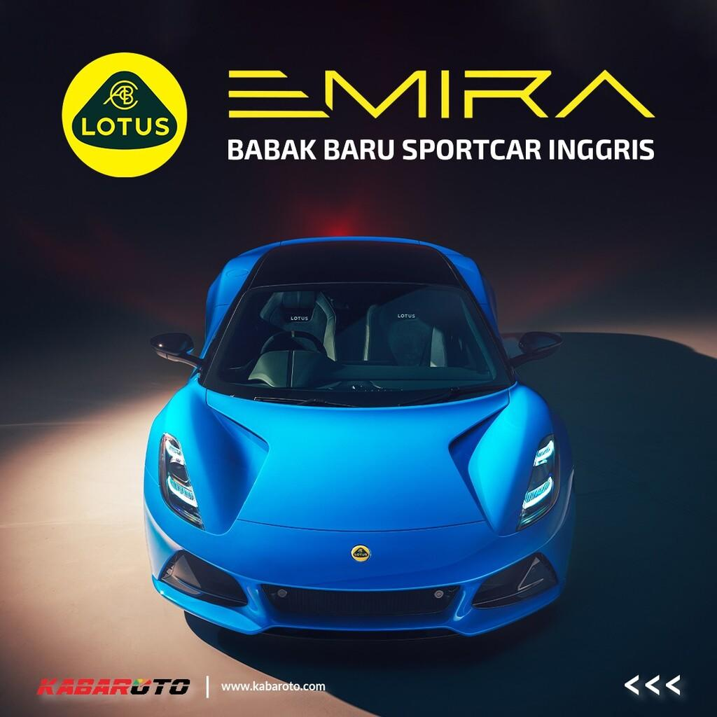 Lotus Emira Jadi Babak Baru Sportscar Inggris
