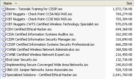 [HOT Collection] 1000++ jam tutorial IT (cisco, microsoft, CISA, CISSP, CEH, dll)
