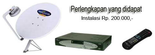 jual + pasang antena tv, parabola, indovision, dan top tv 02196918049