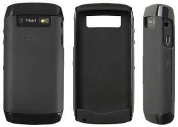Original Blackberry Hard Shell for Pearl 3G 9100 9105 Black dan Otterbox defender