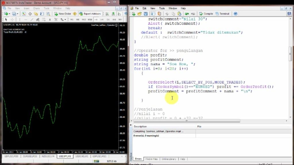Cara membuat program robot forex