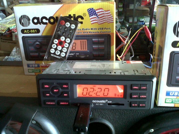 MP3 PLAYER PORTABLE MODEL TAPE MOBIL ACOUSTIC AC3195