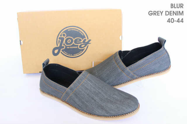 JOEY THE FOOTWEAR (100% ORIGINAL | SEPATU ARTIS | SNEAKER | CASUAL | BOOT | DENIM DLL