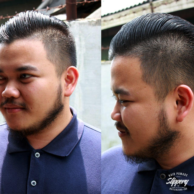 SLIPPERY AUTHENTIC POMADE - POMADE ALAMI BERKUALITAS