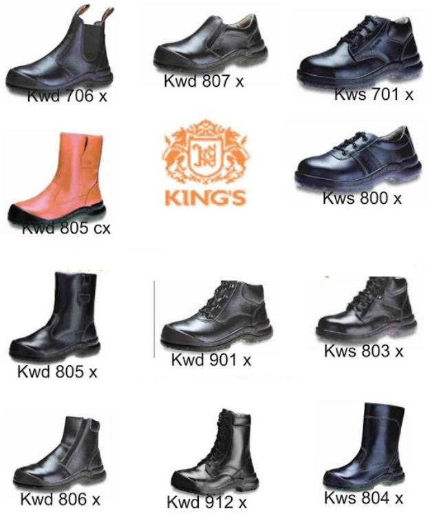 Terjual Sepatu Safety Kings (Safety Shoes)  fb2e9e3e69