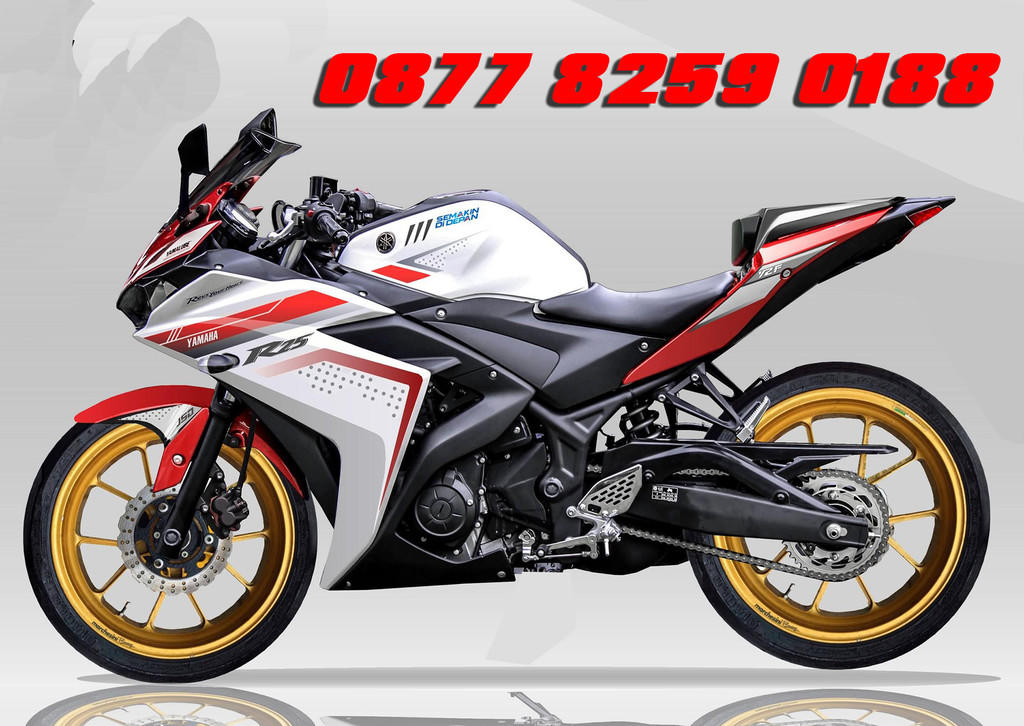 Jual Jasa Cutting Stiker Sticker Motor Wrapping Full Body Skotlet Oracal 3M Carbon