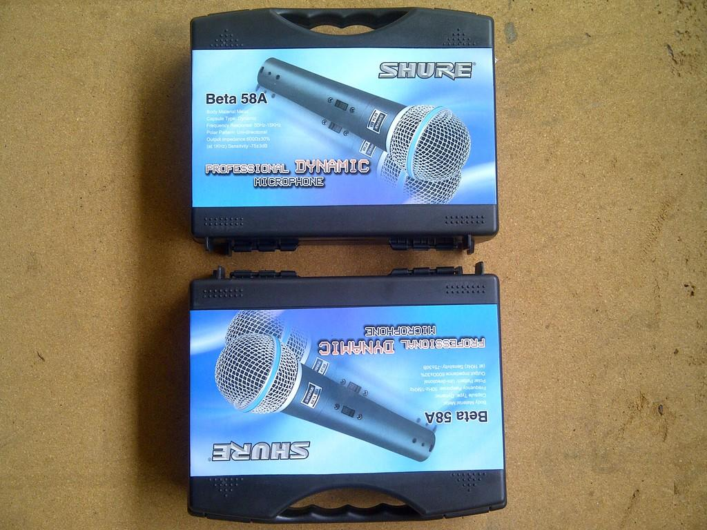 """Jual Mic/Microphone,Cable/Wireless/Condensor """"SHURE"""" (For :Vokal / Instrument / Drum)"""