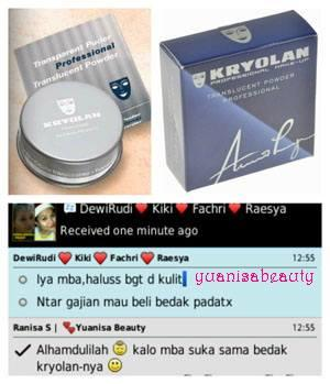 Terjual jual produk Kryolan ,original made in Germany ,di ...