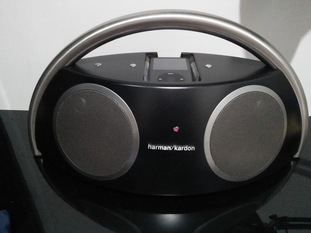 Terjual Speaker Harman Kardon Go Play Sound Freaq Platfom Plus Pay Original Ipod Classic 160 Gb Kaskus