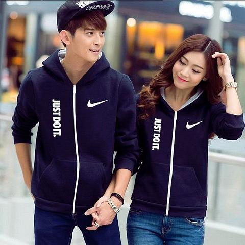 Jacket Just Do it Navy - Baju Couple Jacket,Dress,Sweater,Kaos,