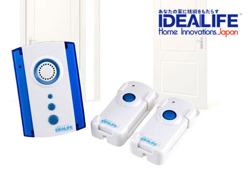 Doorbell Wireless Remote with Music, Songs, and Tunes IDEALIFE High Quality Product