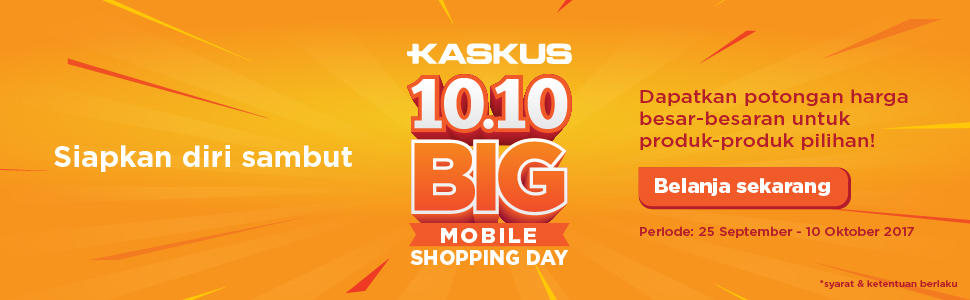 10.10 Big Mobile Shopping Day