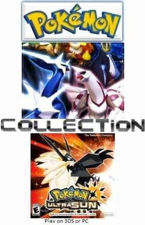 Game Pokemon Collection (40 games) for PC/Laptop Murah!