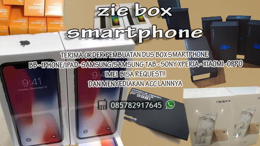 DISTRIBUTOR PEMBUATAN BOX DUS IPHONE   SAMSUNG   SONY   BB RECOMENDED SELLER ad3a830161