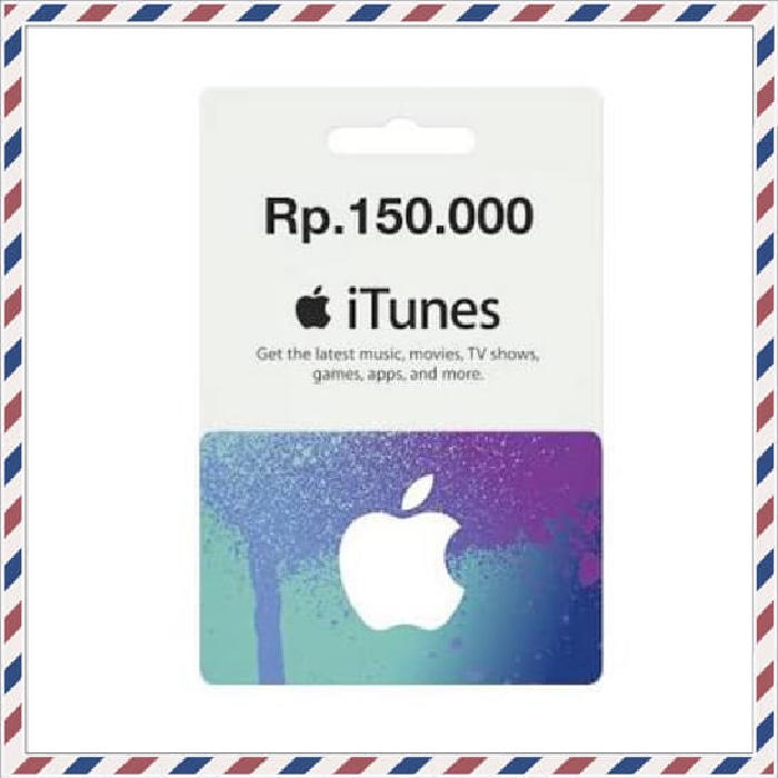 ≈ [Promo] iTunes Gift Card (IGC) Indonesia Legal [DEPOK] ≈