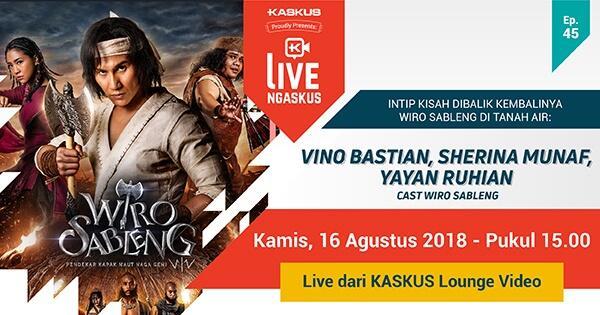 live-ngaskus-wiro-sableng---vino-sherina-dan-yayan-ruhian