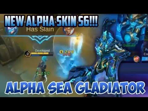 full-gameplay--new-skin-alpha-sea-gladiaor--s6-mobile-legends-season-6-review