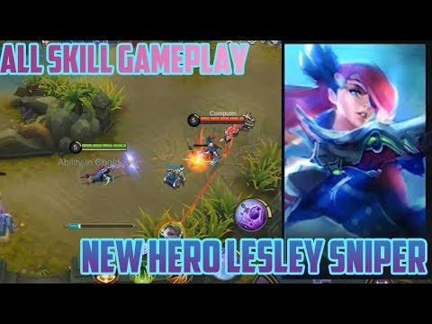 new-hero--sniper-lesley-all-skill-gameplay-mobile-legends-indonesia