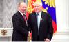 Putin Kembali Dilantik Jadi Presiden Rusia
