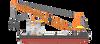 Badan Lion PK-LQP akan Diangkat dengan Crane Barge