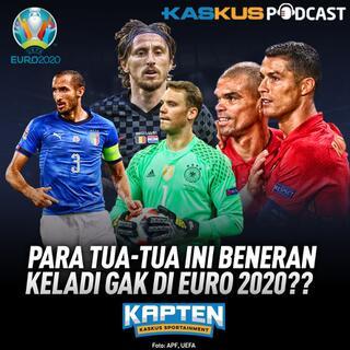 Tua-tua Masih Main di Euro 2020 Yakin Kuat?