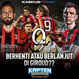 Misi Berat Giroud Hapus Kutukan Nomor 9 Milan!