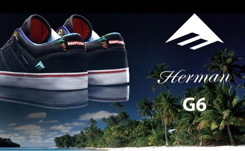 emerica G6 happy hour herman skateboarding