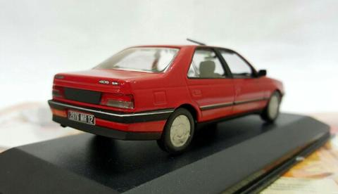 Peugeot 405 SRi 1991 by Norev 1:43