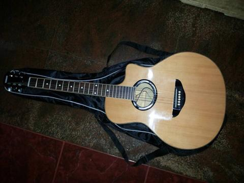 gitar akustik electric custom, great condition