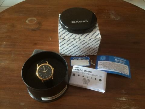 CASIO MTP-1095Q-1A GOLD CLASSIC LOOK