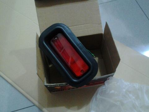 Rear foglamp pentair merah