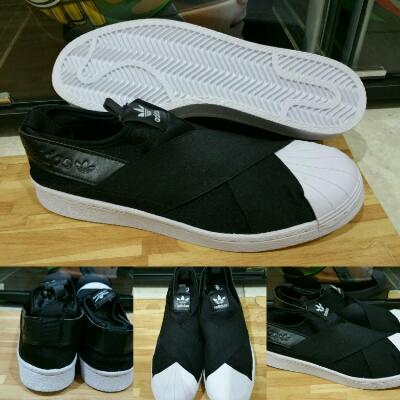 Sepatu Kets Adidas Slip On Indonesia with Box