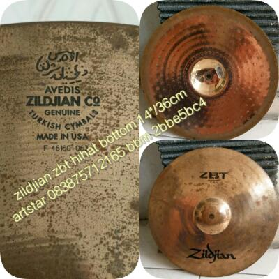 "Zildjian zbt hihat bottom 14""/36cm usa"