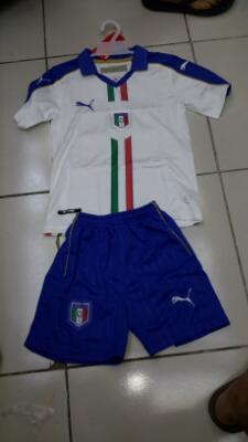 Kids Italia Away Piala Eropa 2016