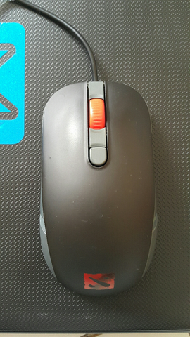 WTS: Mouse SteelSeries KANALIMITED EDITION DOTA 2