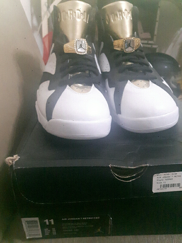 "[2nd VERY VERY GOOD CONDITION] Air Jordan 7 ""GOLD CHAMPAGNE"" - size 45/US11/29cm"