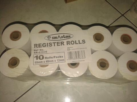 Kertas struk register roll surabaya
