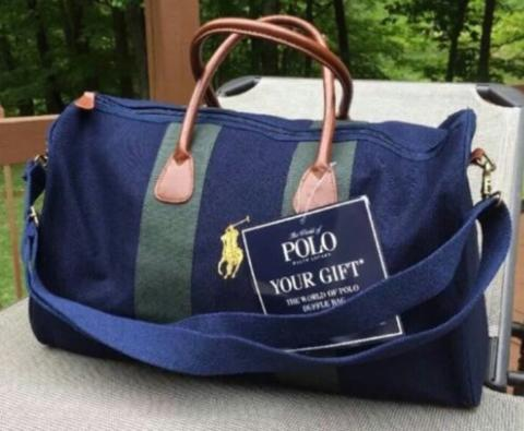 Terjual Tas Polo Ralph Lauren Travel Bag   Duffel Bag   Gym Bag ... 739a01b37110b